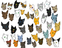 Starclan's Army by TheRushingWolf