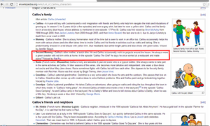 Caillou Wikipedia Fail. by my-chemical-rachel