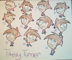 Timmy Through The Years by goldfish078