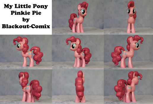 Pinkie Pie My Little Pony Sculpture by Blackout-Comix