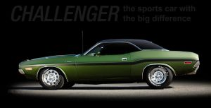 70 Dodge Challenger by Bephza