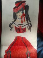 The Earl of Phantomhive Ciel in girl clothes by Reinarosalina