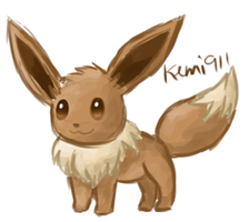 Eevee revisited by kemi911
