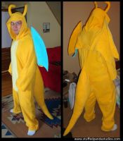 Dragonite kigurumi by stuffedpanda-cosplay