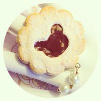 Teddy cookie ring by SprinkleChick