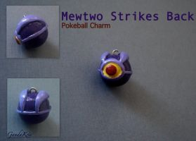 Mewtwo Strikes Back Pokeball by GandaKris