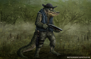 Leatherhead redesign by thesadpencil