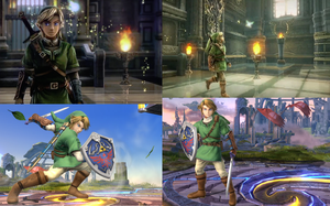 Super Smash Bros. 4 Link is Zelda Wii U Link? by Gyrofall