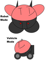 Kirbyformers 1: Ironhide (Movie) by Kirby-Force