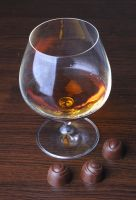glass of cognac by zabiamedve