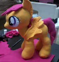 Scootaloo plushie by ponydeath