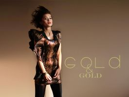 Gold and Gold by la-monalisa