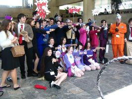 OBJECTION OMG  Cosplayers by MinionofSloth
