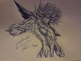 Deathmask Cancer by 3NOXIA