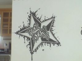 Rock Star! Tattoo Design by XxRoseAlchemistxX