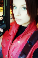 Claire Redfield Darkside Chronicles Cosplay WIP by Hamm-Sammich