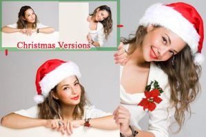 Xmas Versions for advertisement by ameshin