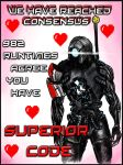 Mass Effect Valentine - Legion by efleck