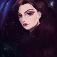 updated space girl by edelea