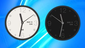 HTC One M9 Analog Clock 1 for xwidget by jimking