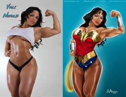 Yves Nunez is a TRUE Wonder Woman By Jaton-Ra by zenx007