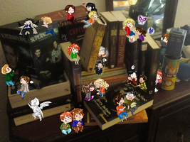 SuperMegaUltra BooksXover and SPN by Isine