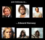 Josh Holloway as Edward Kenway by Bunzzz