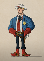 Sheriff Steve Rogers by payno0