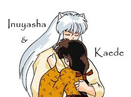 Inuyasha and Kaede by HallowShell15