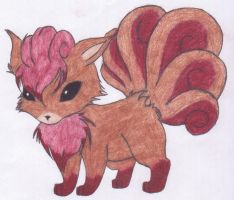 Vulpix Adoptable-Auction :CLOSED: by SkyBlue2013