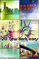 Icons - New York by lilbrokenangel