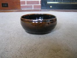 Brown Bowl by Artemis-Stock