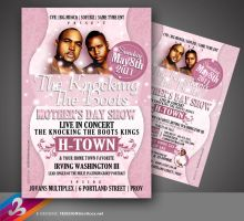 H-TOWN Flyer by AnotherBcreation