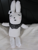 Dainty Bunny - Angie Sock Doll by Black-cat-lover