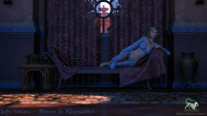 Elf Rally 01 - Veliara Lounging by chimera46