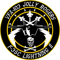 VFA-103 Jolly Rogers Flight Insignia by viperaviator