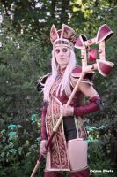 High inquisitor Sally Whitemane cosplay by Drawbella