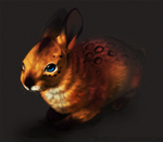 Red-Bunn3h Commission by TamberElla