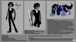 Onyx - Character Sheet by SubduedMoon