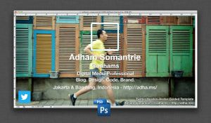 Guide Template for Twitter Header and Avatar by adhamsomantrie