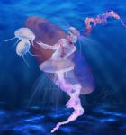 Jellyfish by babsartcreations