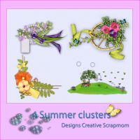 4 Clusters Preview by Creativescrapmom