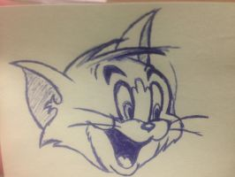 Tom without Jerry! by cloudedumar