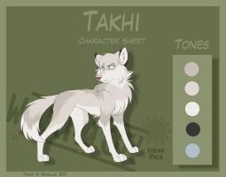 Takhi - Character Sheet by Skailla
