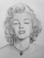 Maryilin Monroe by ericadalmaso