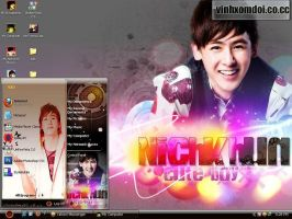 Nichkhun-2PM Theme for XP by vinhxomdoi