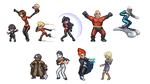 The Incredibles pixel by Hiroki8