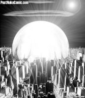 Post-Nuke Comic, Nuked City 2 by Dre-Artwork