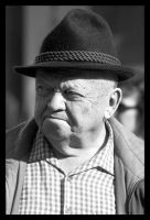 a day in graz - old man by Gvolution
