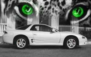 1998 Pearl White 3000gt NA by KrootonzNCheeze
